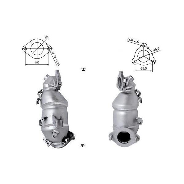 Kia CEED 1.6TD CRDI 1582 cc 66 Kw / 90 cv D4FBL Magnaflow CAT Bo