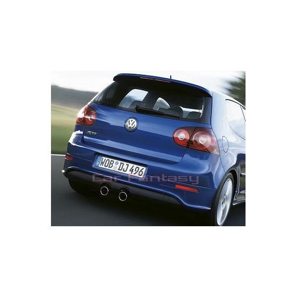 FOX RVS Einddemper VW Golf V GTI, R32 look