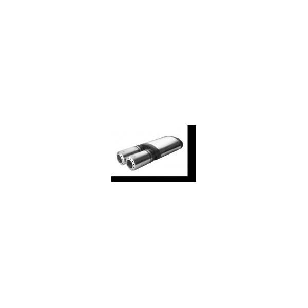 Sport-Eindemper 2x100mm Universeel Ulter-Sport