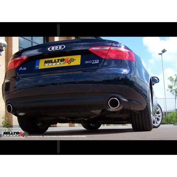 Milltek Duplex Sport uitlaatsysteem Audi A5 3.0 TDI