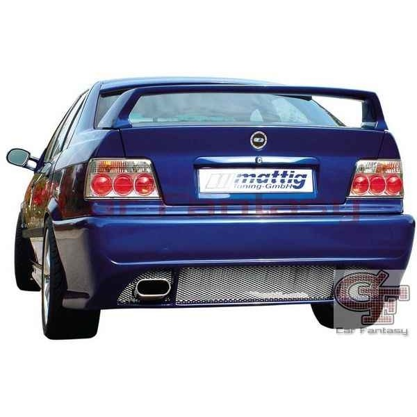 Achterbumper BMW 3-serie E36 '91-'98 exclusief M3, Mattig